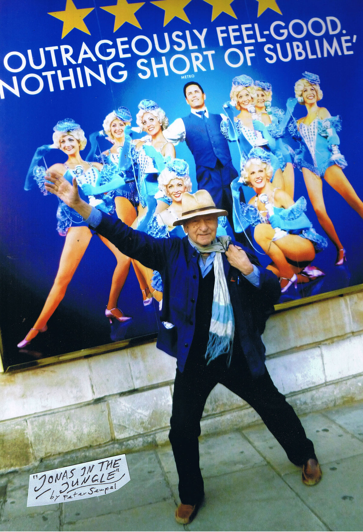 Jonas Mekas, London | courtesy Peter Sempel