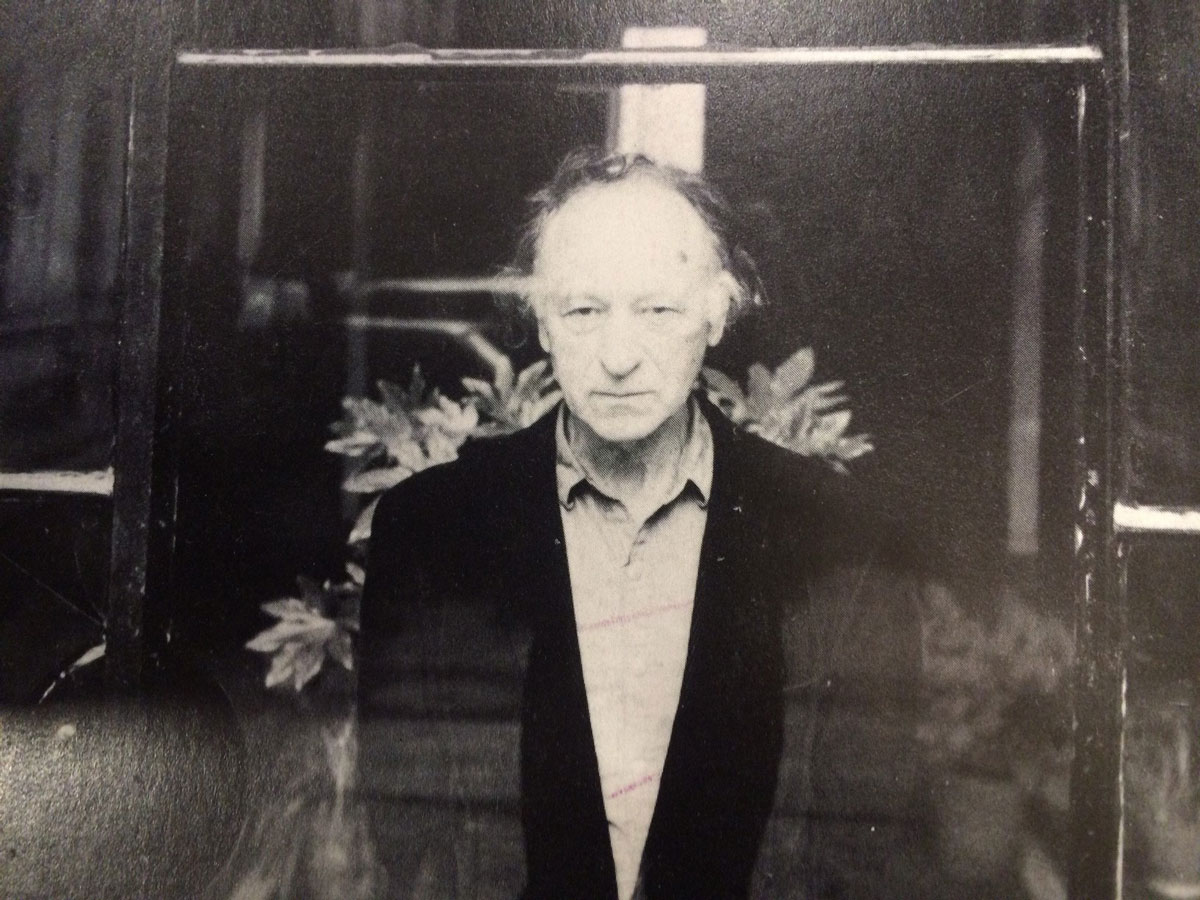 Jonas Mekas, London | courtesy: Peter Sempel