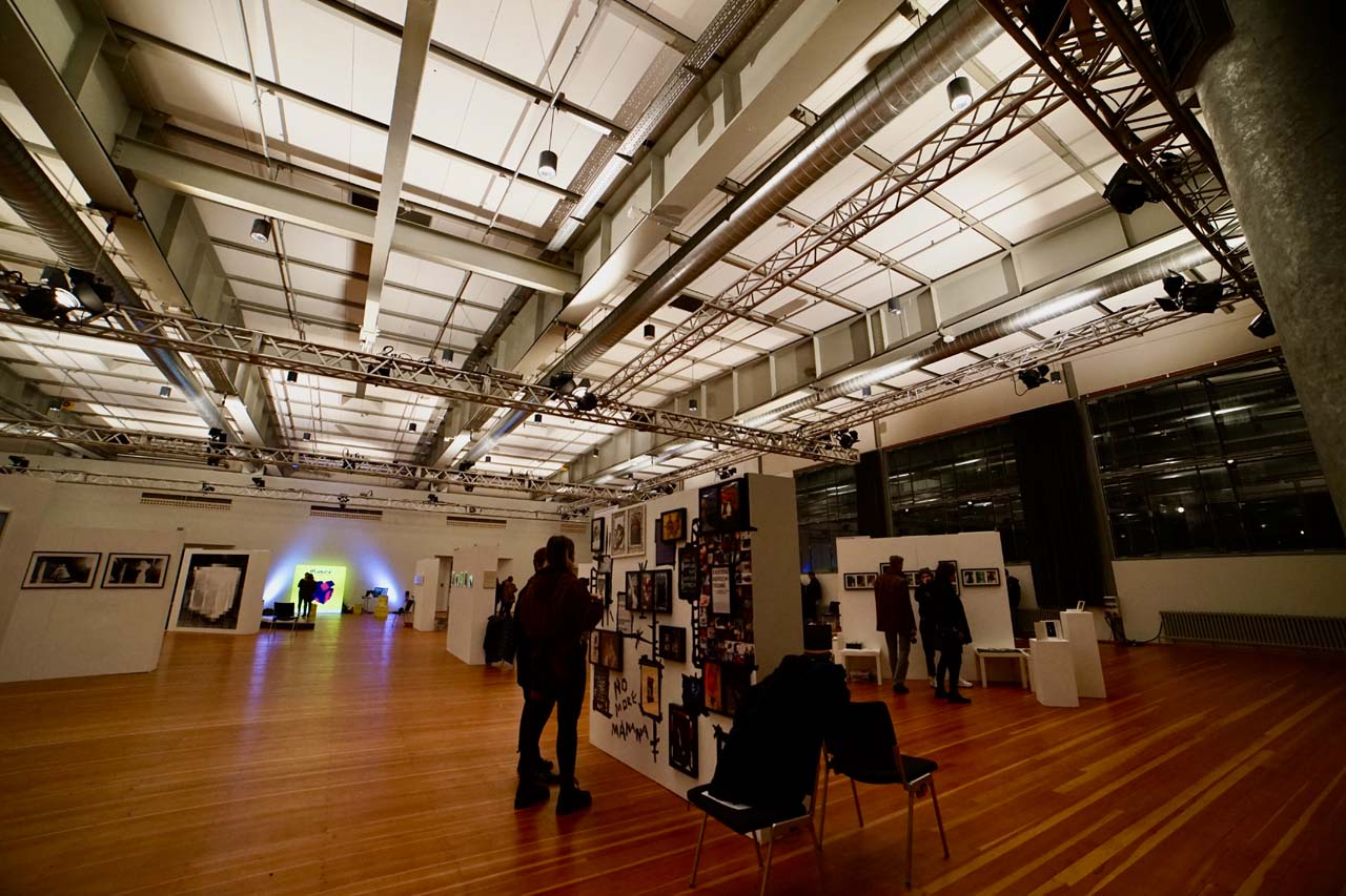 Directors Lounge at the C.A.R. Photo Media art fair, March 2020. Photo: Isabelle Meyrignac