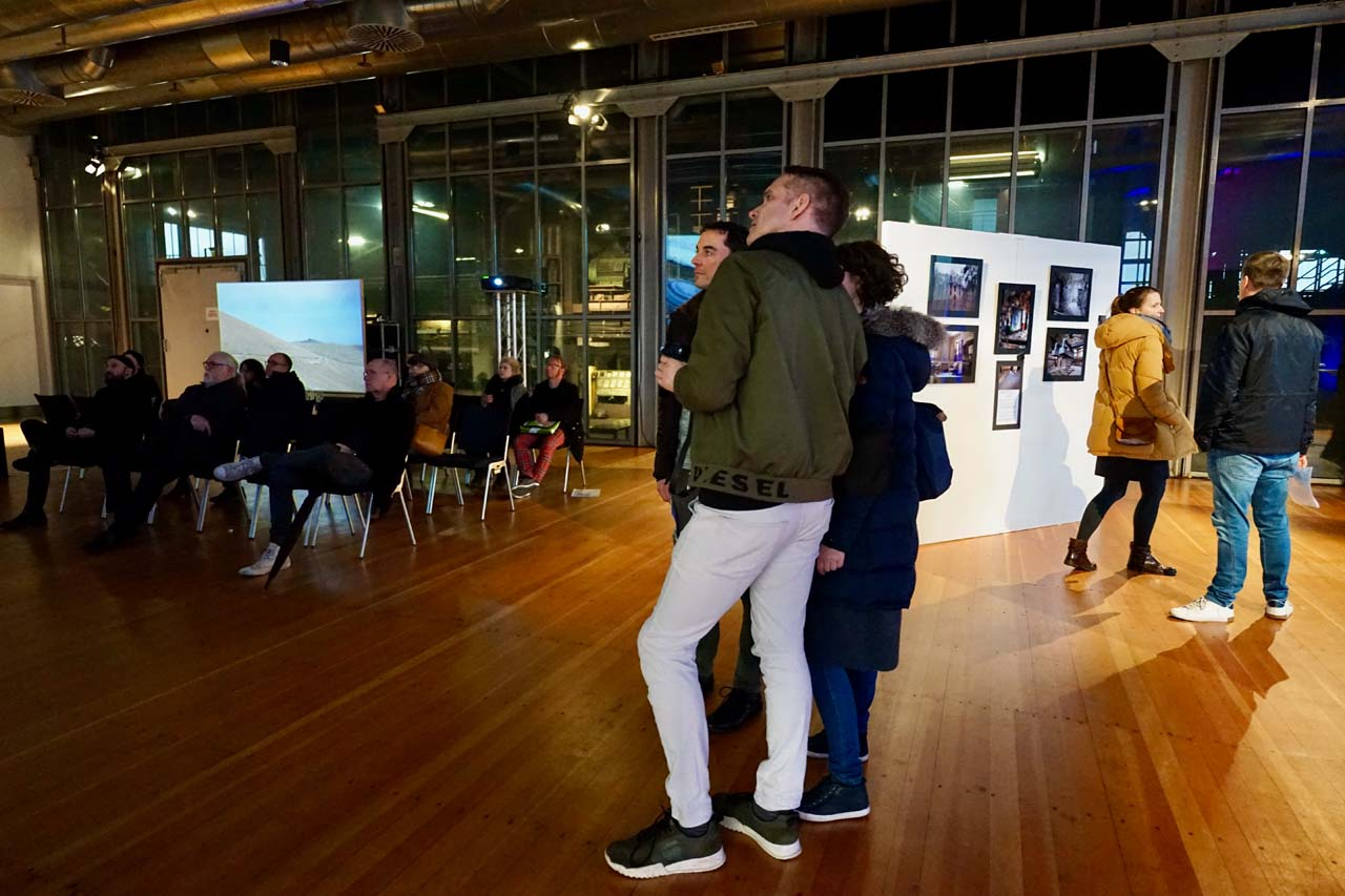 Directors Lounge at the C.A.R. Photo Media art fair, March 2020. Photo: Isabelle Meyrignac
