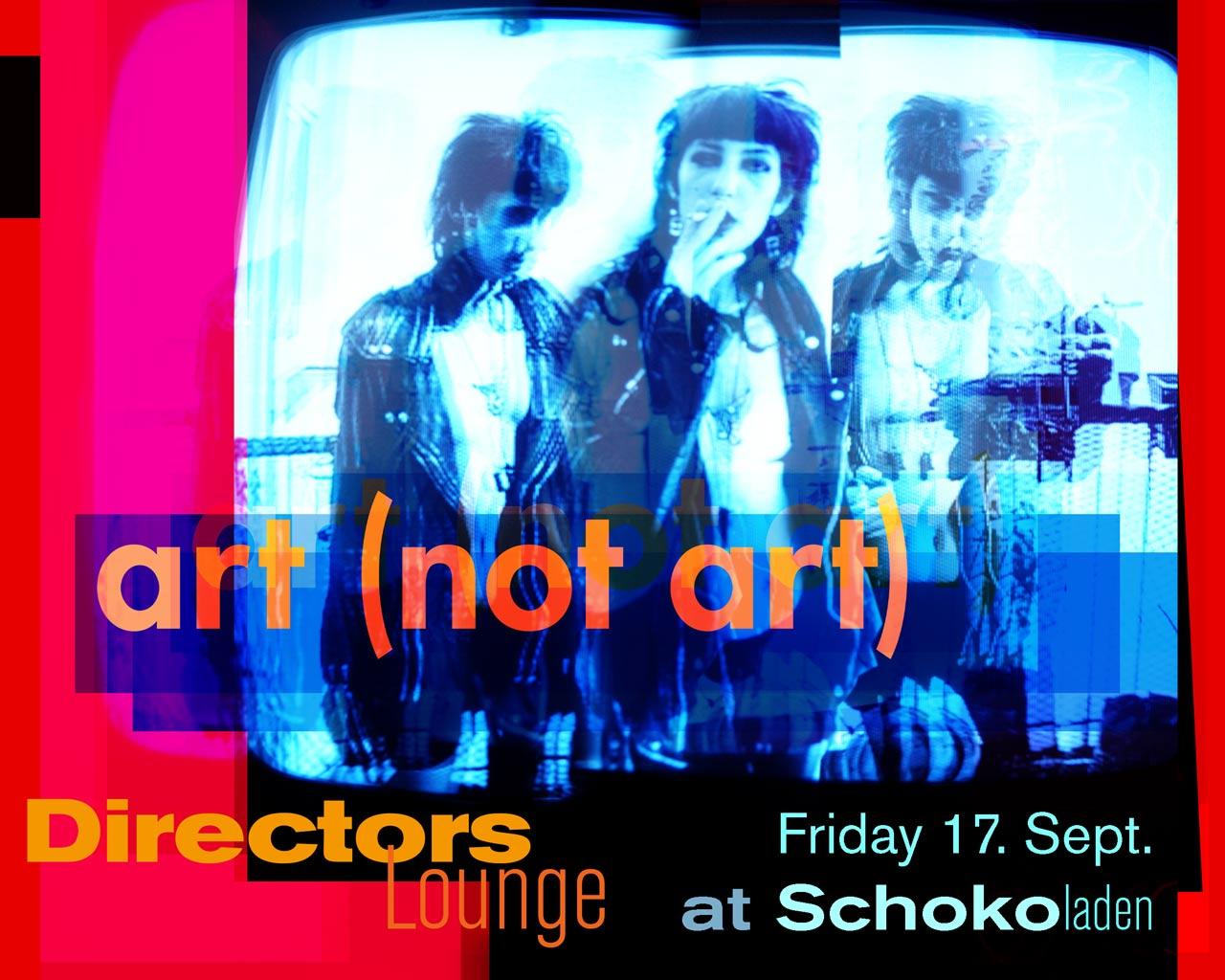 Directors Lounge at the 10th Berlin Art Week.