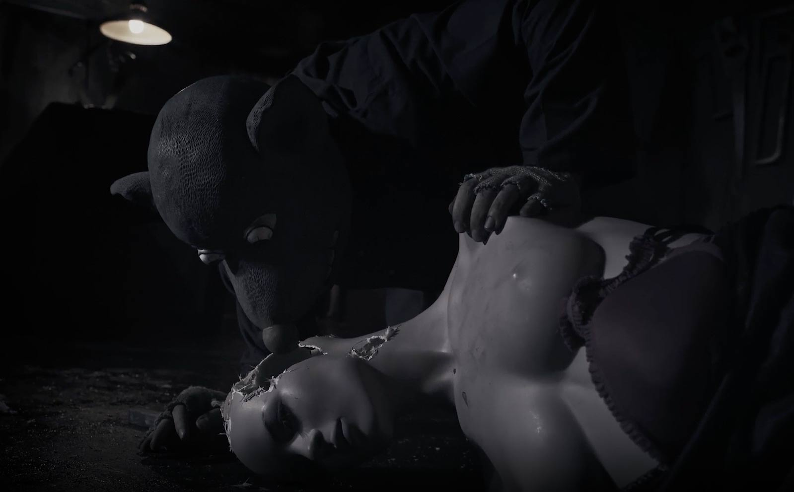 Roger the Rat – The Film, by Roger Ballen. Still